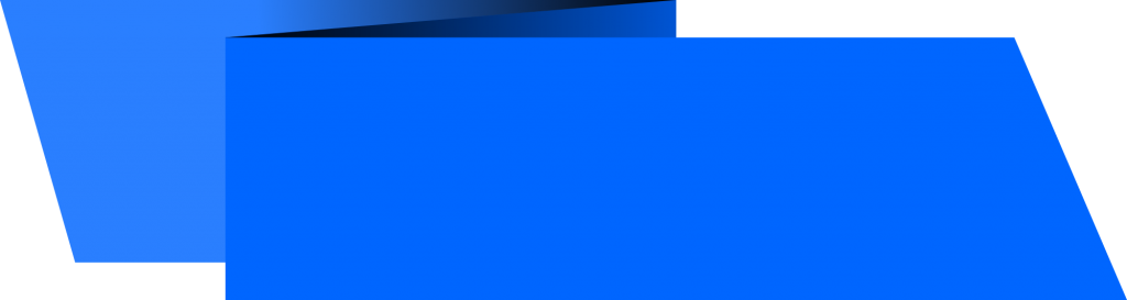 Blue banner png. Origami rectangle vector