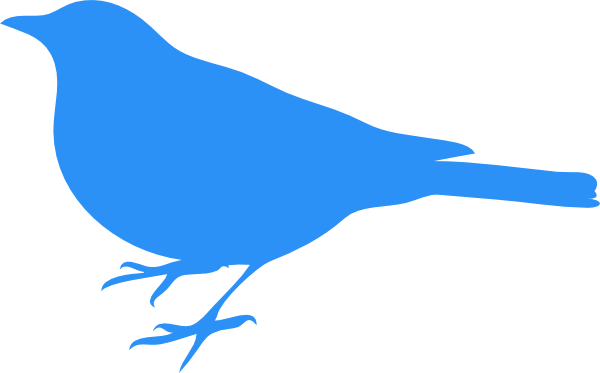 Blue bird png. Baby clip art at