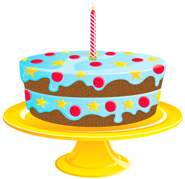 Blue birthday cake png. Clipart gallery yopriceville high