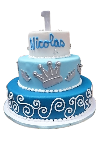 Blue birthday cake png. First ideas