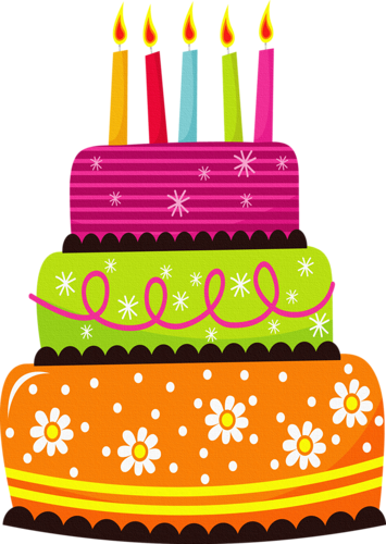 Blue birthday cake png. Clipart pics words pinterest