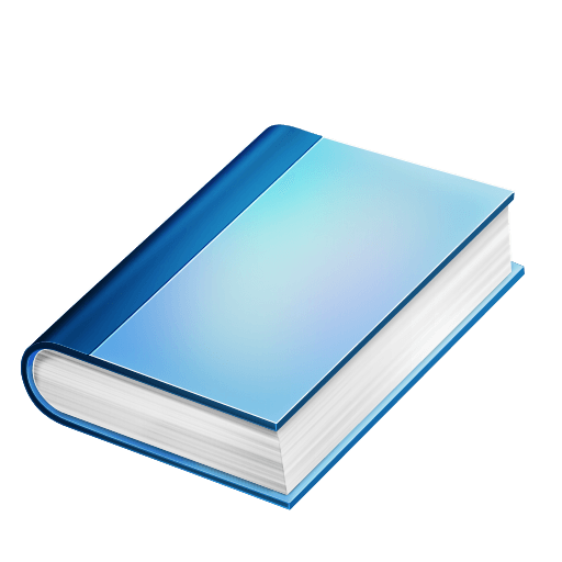 Blue book png. Image