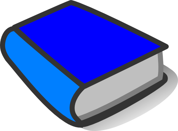 Blue book png. Reading clip art at