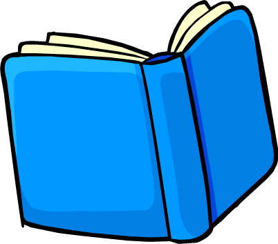 Blue book png. Image club penguin wiki