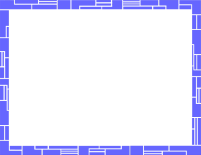 Blue borders png. Transparent frames and of