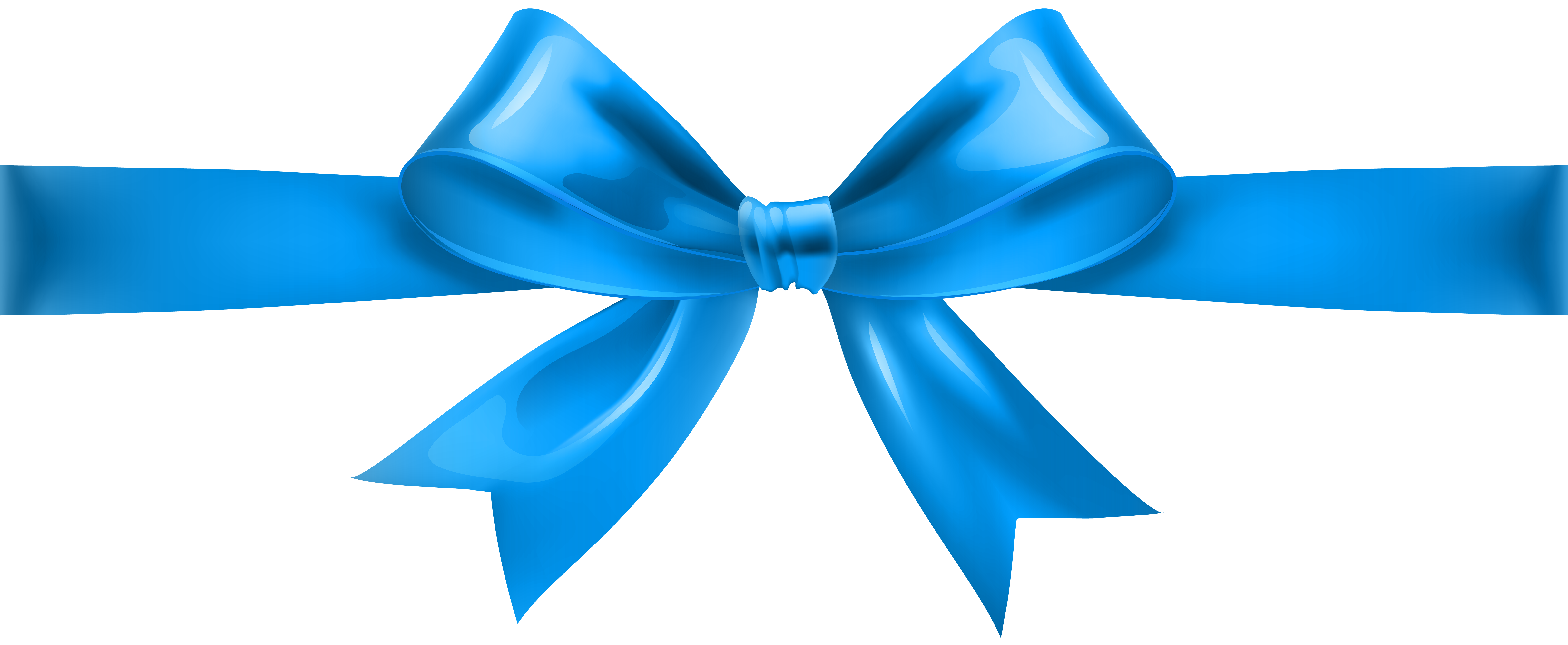 Blue bow png. Transparent clip art gallery