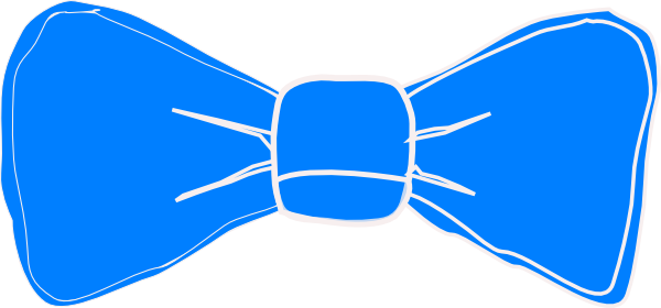 Blue clip art at. Vector bows bow tie image library stock