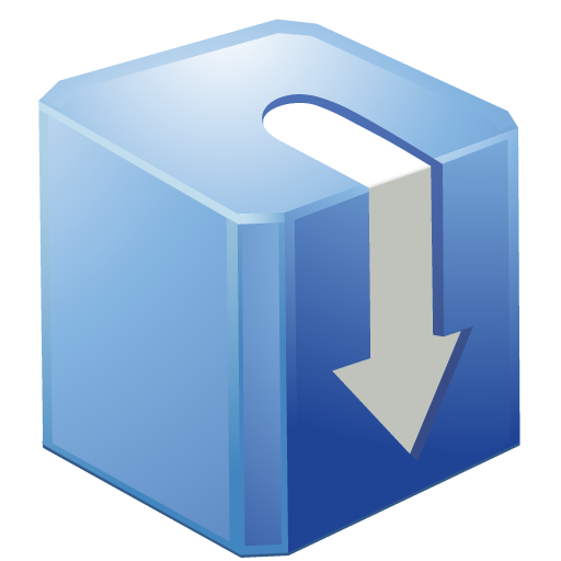 Blue box png. Bright by iconeden download