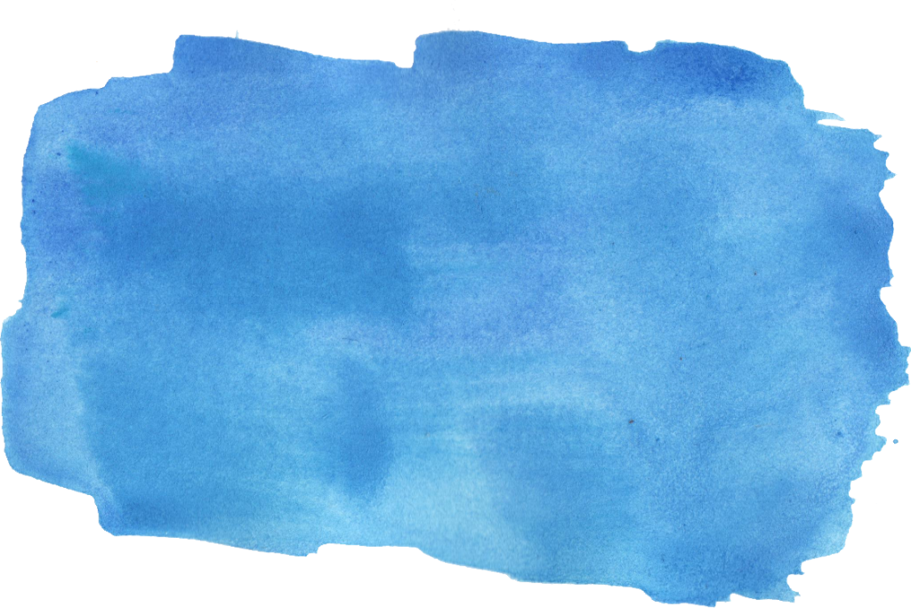 Blue brush stroke png. Watercolor transparent vol