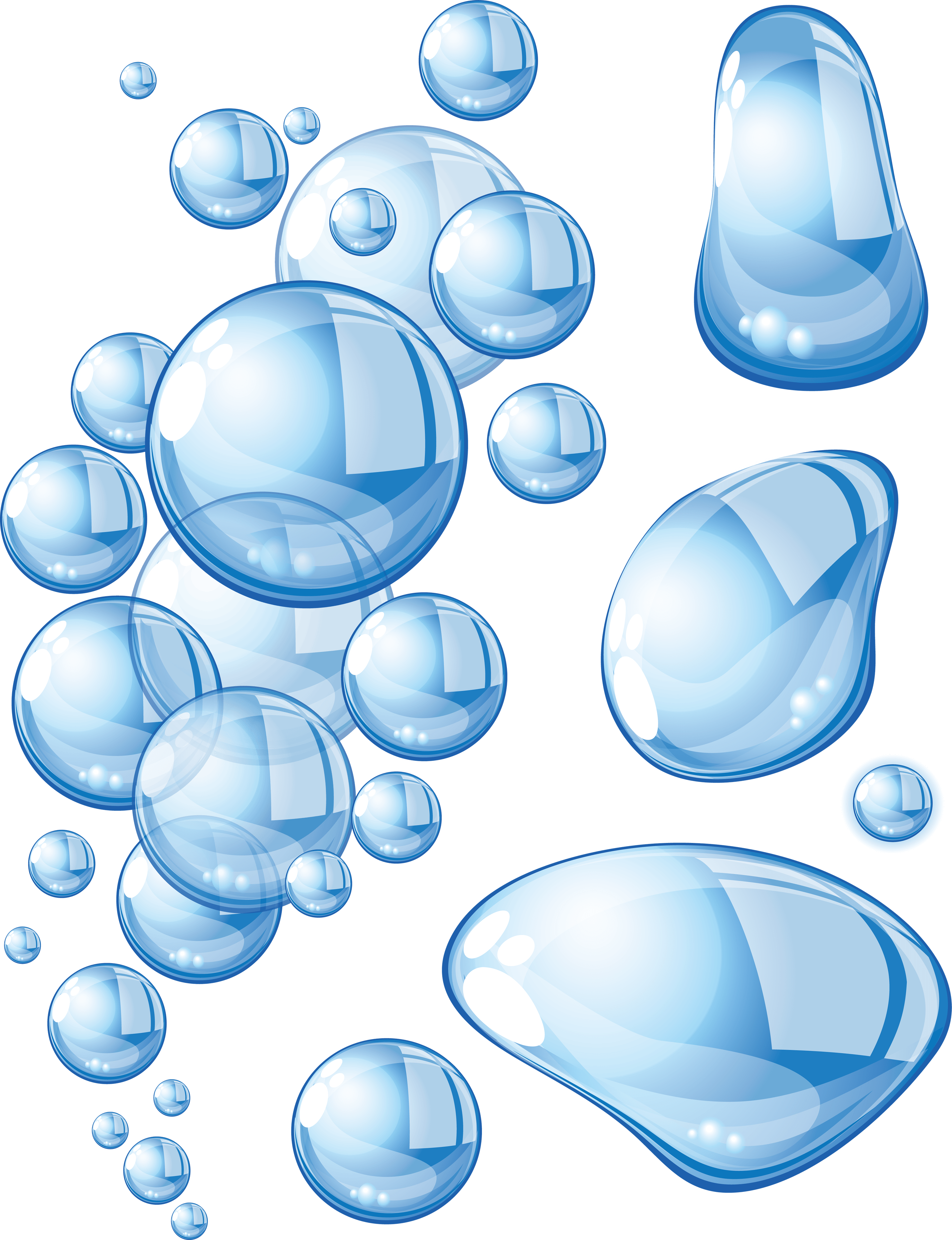 Water bubbles png. Large transparent stickpng download