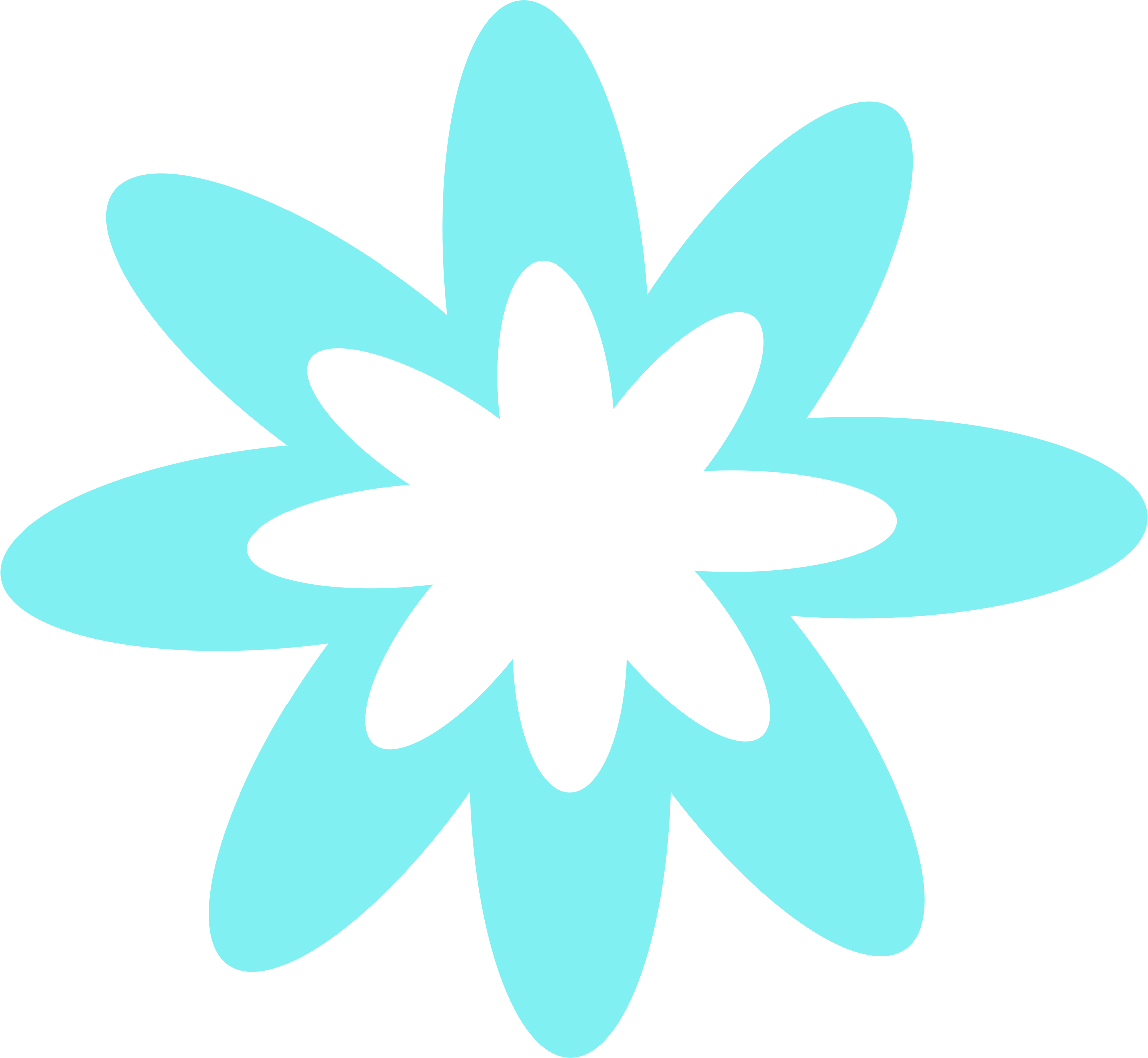 Turquoise flower png. Blue burst icons free