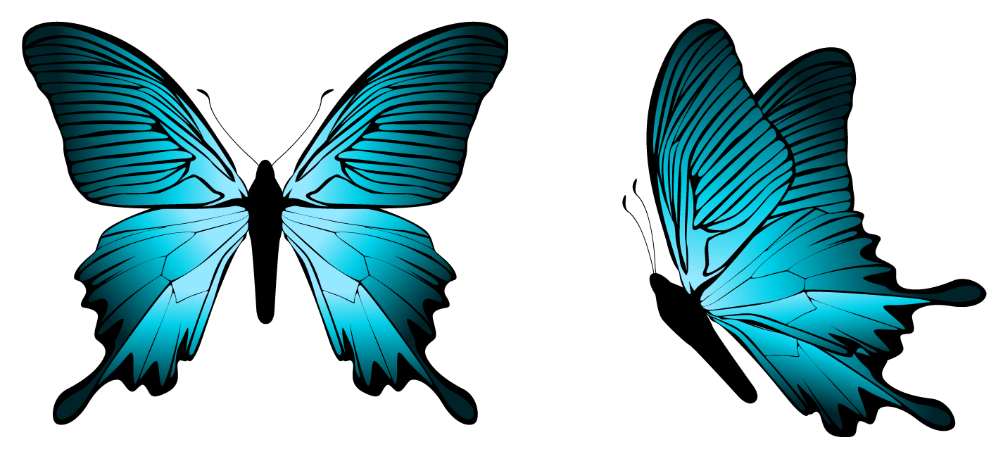 Butterfly clipart png. Blue image gallery yopriceville