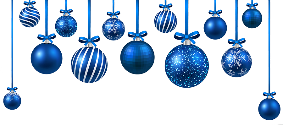 Blue christmas decorations png. Promotions mike varney physiotherapy