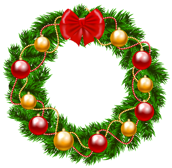 Blue christmas garland png. Wreath clipart image pinterest