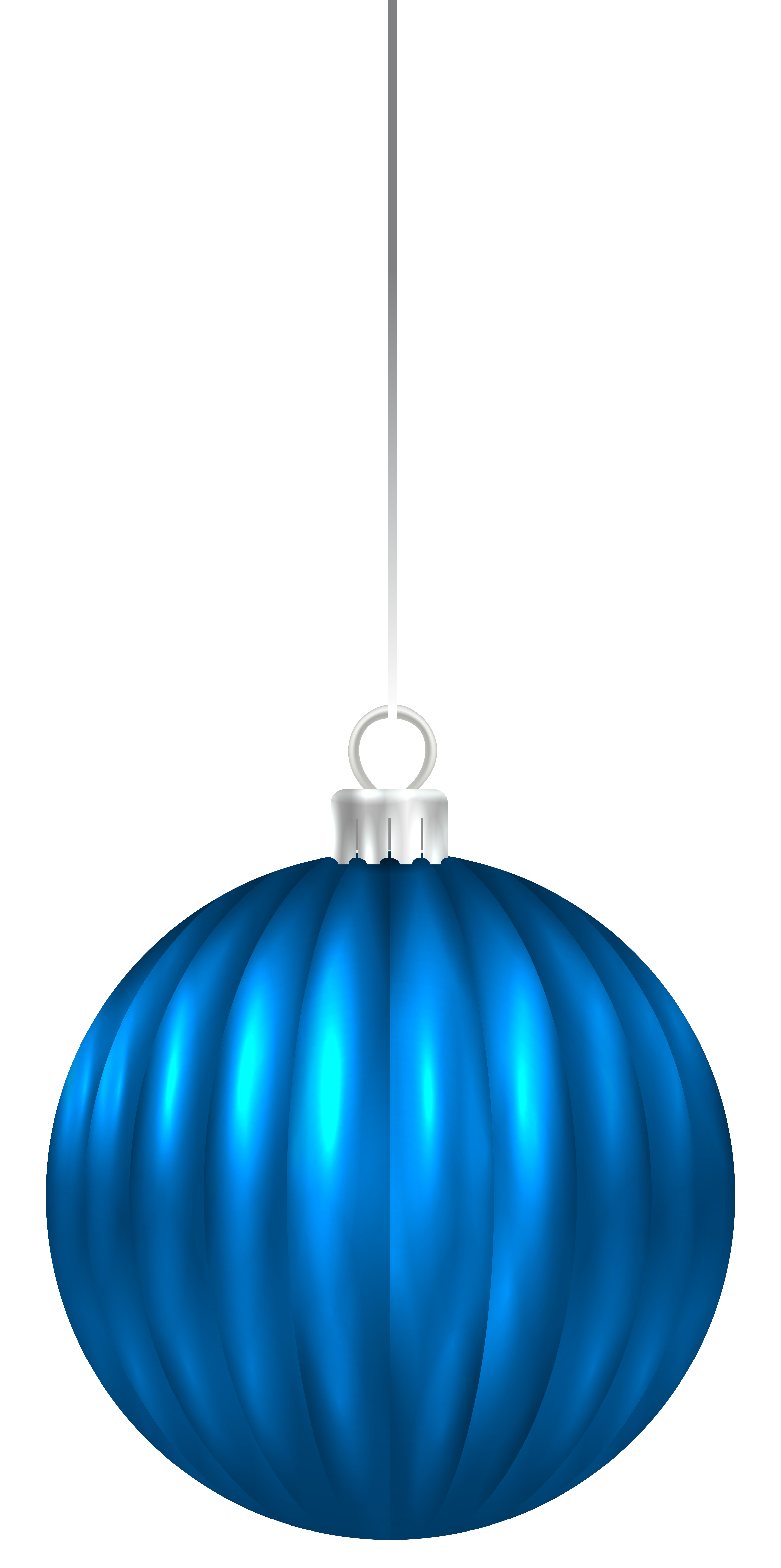 Blue Christmas Ornaments Transparent Png Clipart Free Download