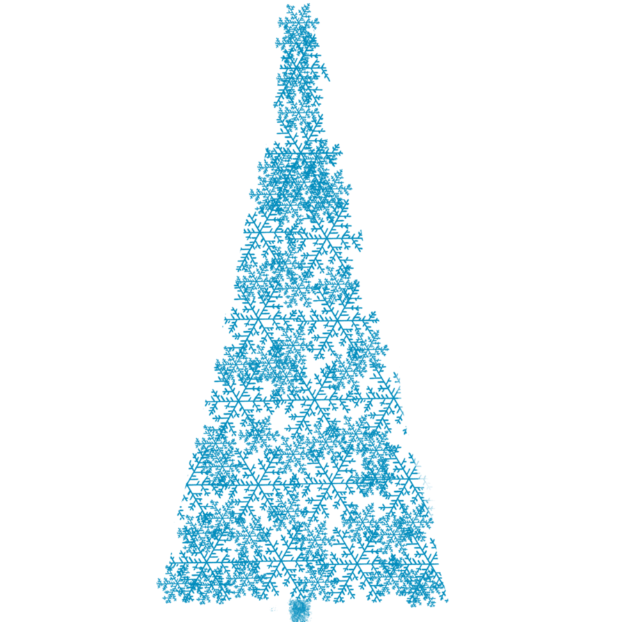 Blue christmas tree png. Clipart by cinnamoncoffeestudio on