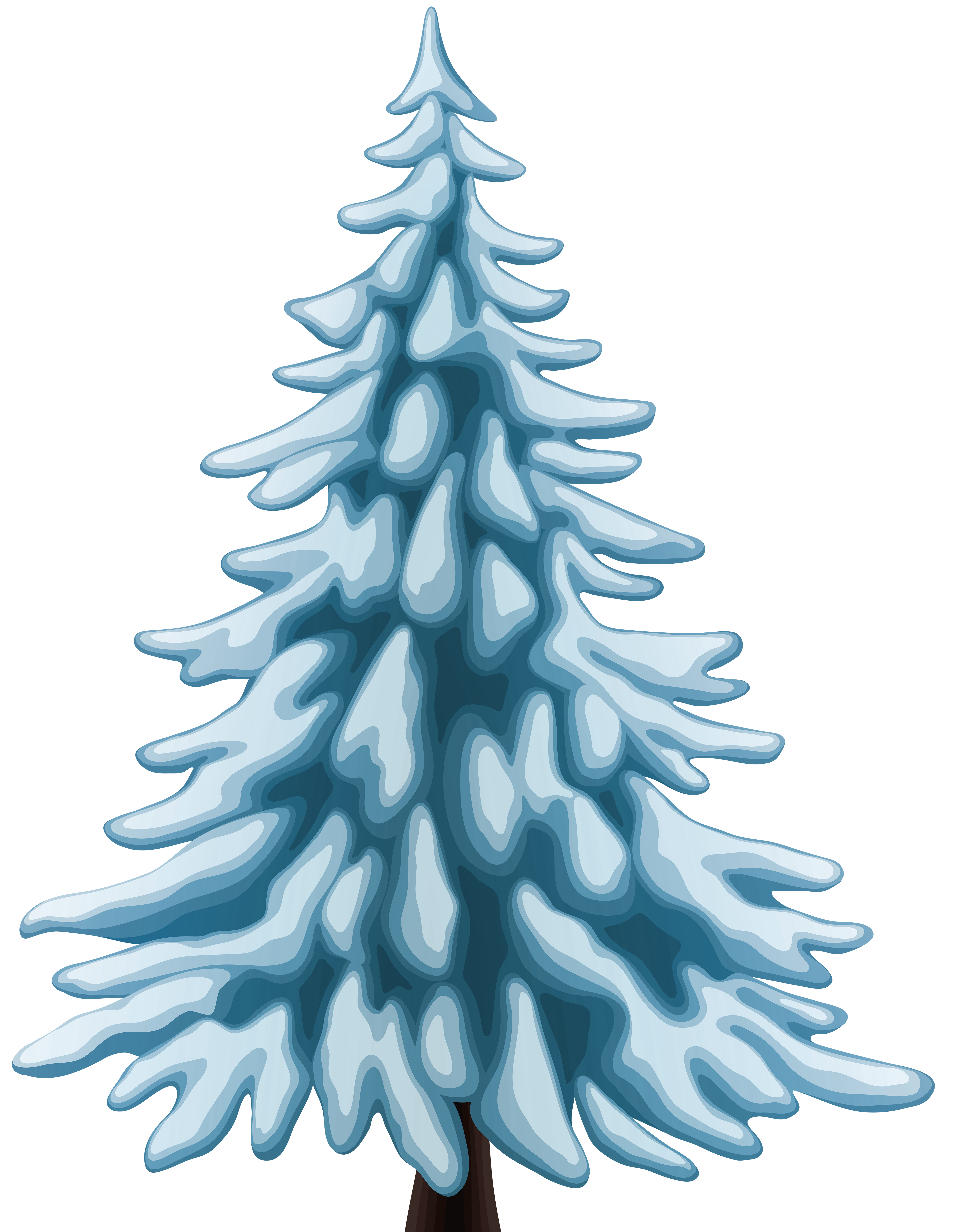 Winter tree clip art. Png pine trees image free stock