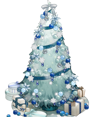 Blue christmas tree png. Image white and kancolle