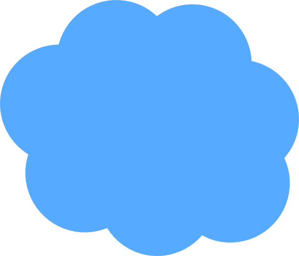 Blue clouds png. Cloud clip art at