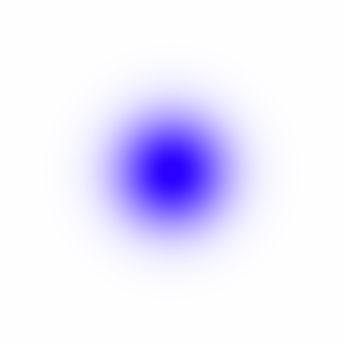 Blue color png. Colour points and glow