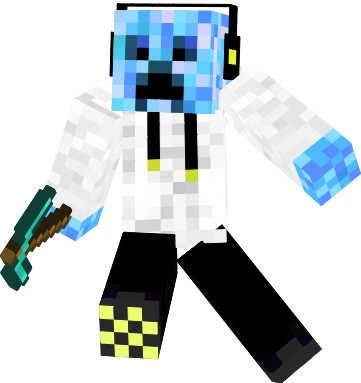 blue creeper png