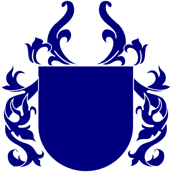 Blue crest png. Shield clip art at