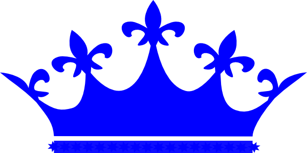 Blue crown png. Queen clip art at