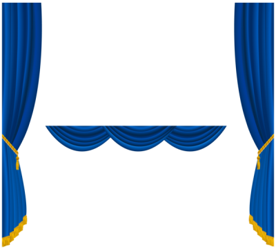 Blue curtains png. Download curtain free transparent