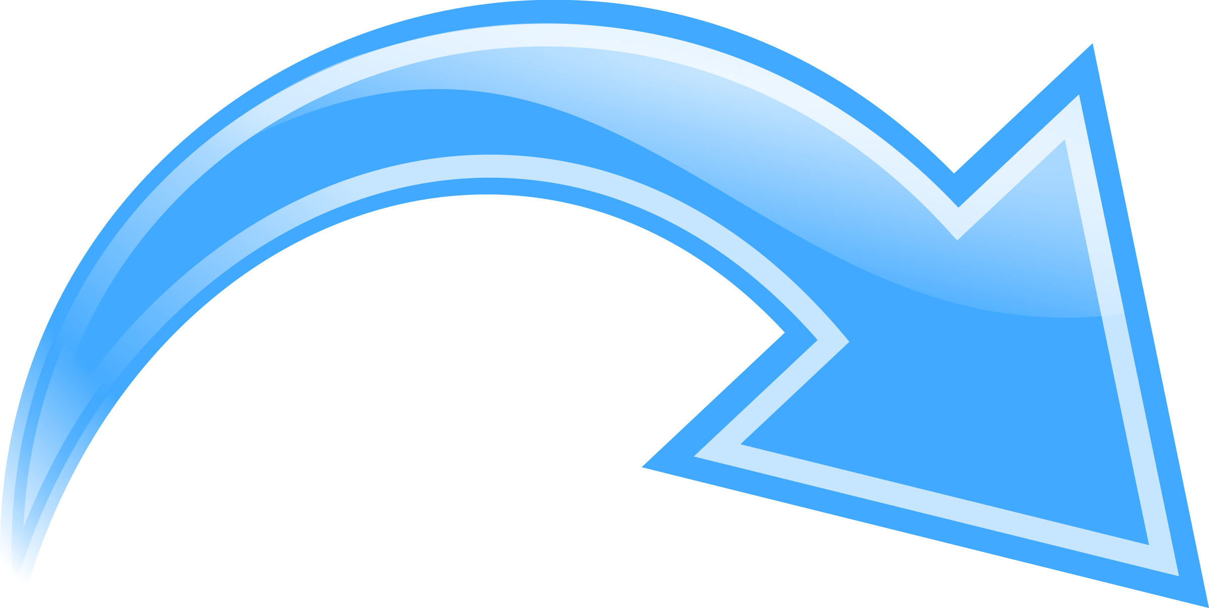 Blue curved arrow png. Icons free and downloads