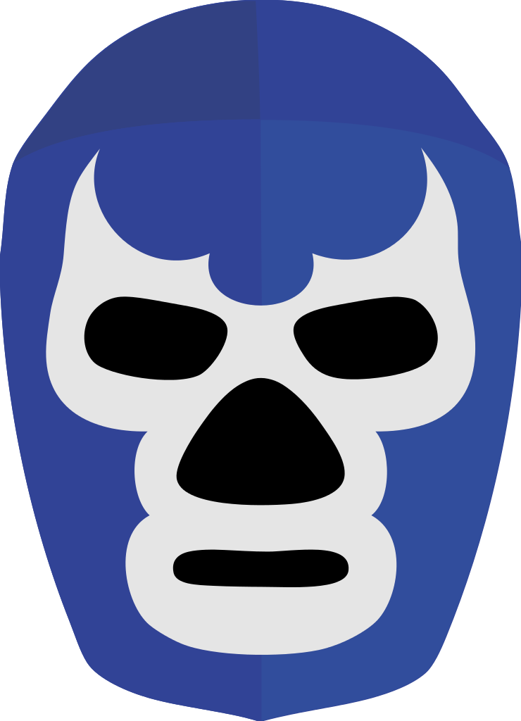 Blue demon png. File mascara svg wikipedia