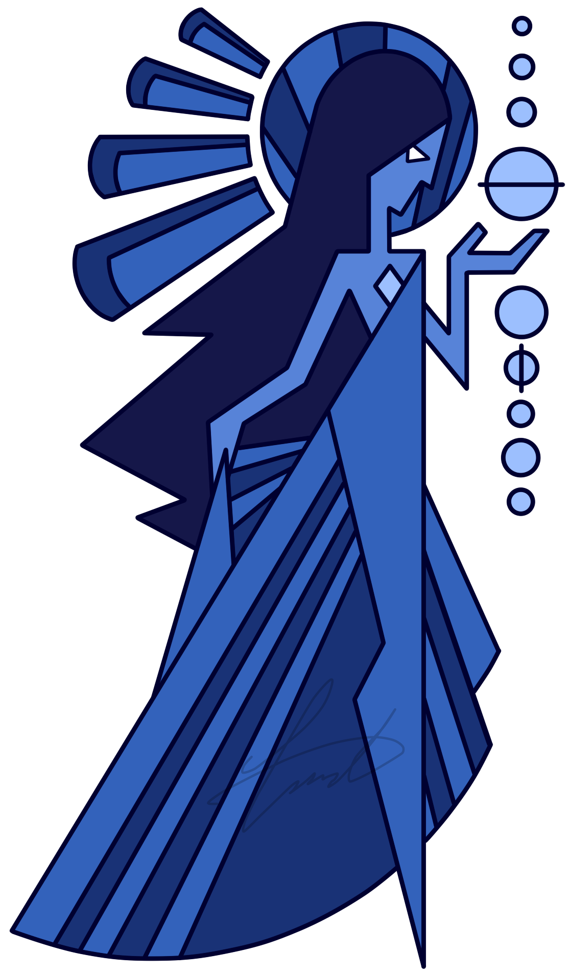 Blue diamond png. Image s mural by