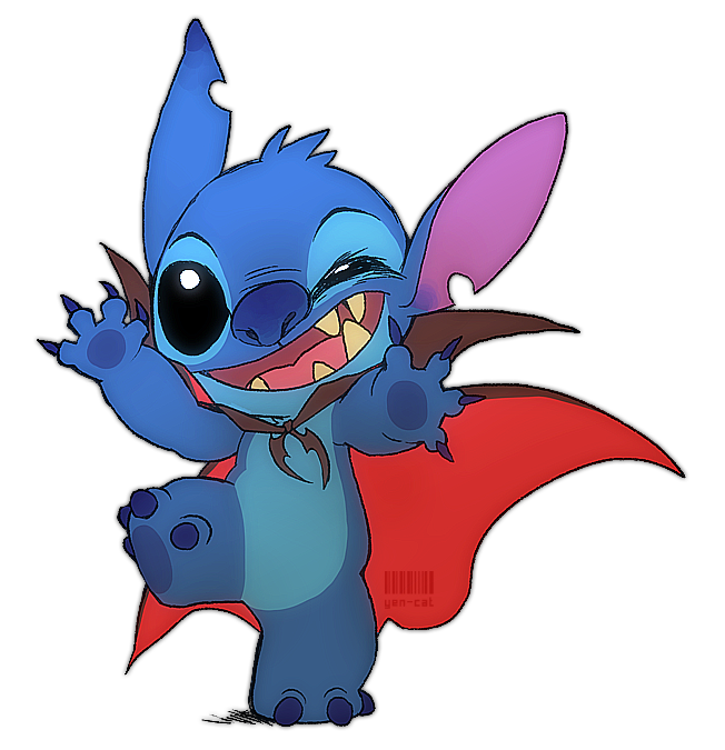 Blue drawing stitch. Or trick by yen