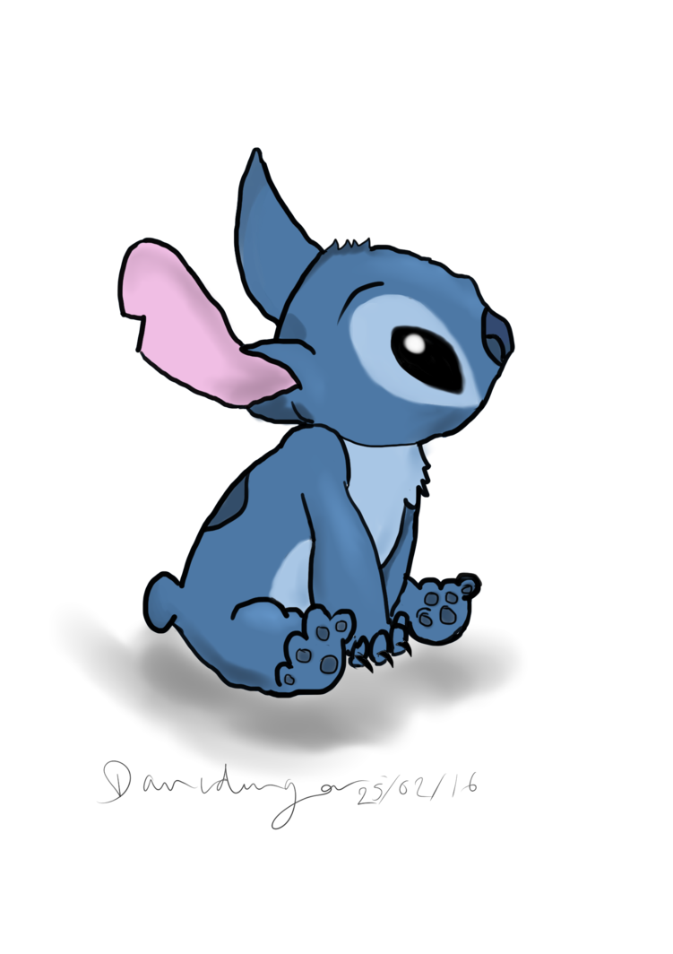 Drawing thing draw stitch. First digital art by