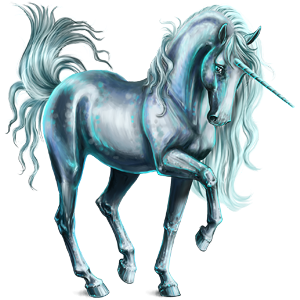 Drawing unicorns mythical creature. Howrse com icey blue