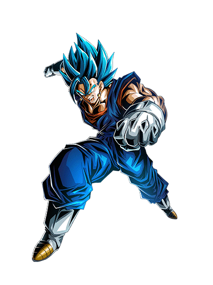 Blue drawing vegito. Dokkan by thevibegod on