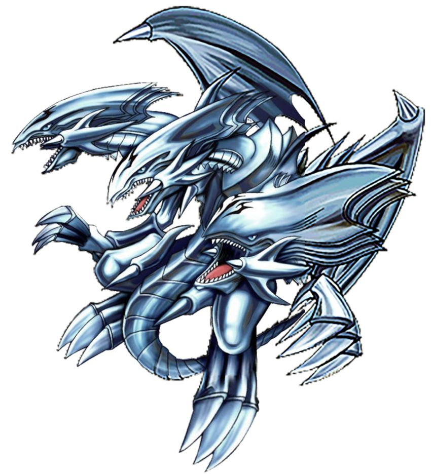 Blue eyes white dragon png. Ultimate by carlos on