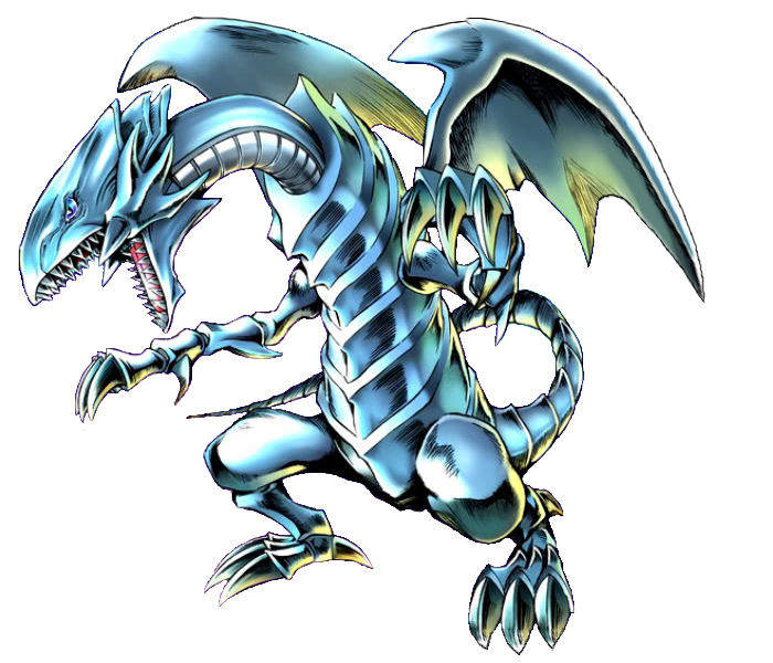 blue eyes white dragon png #67012088