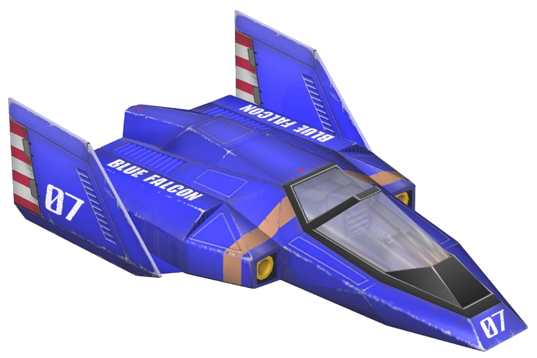 blue falcon png
