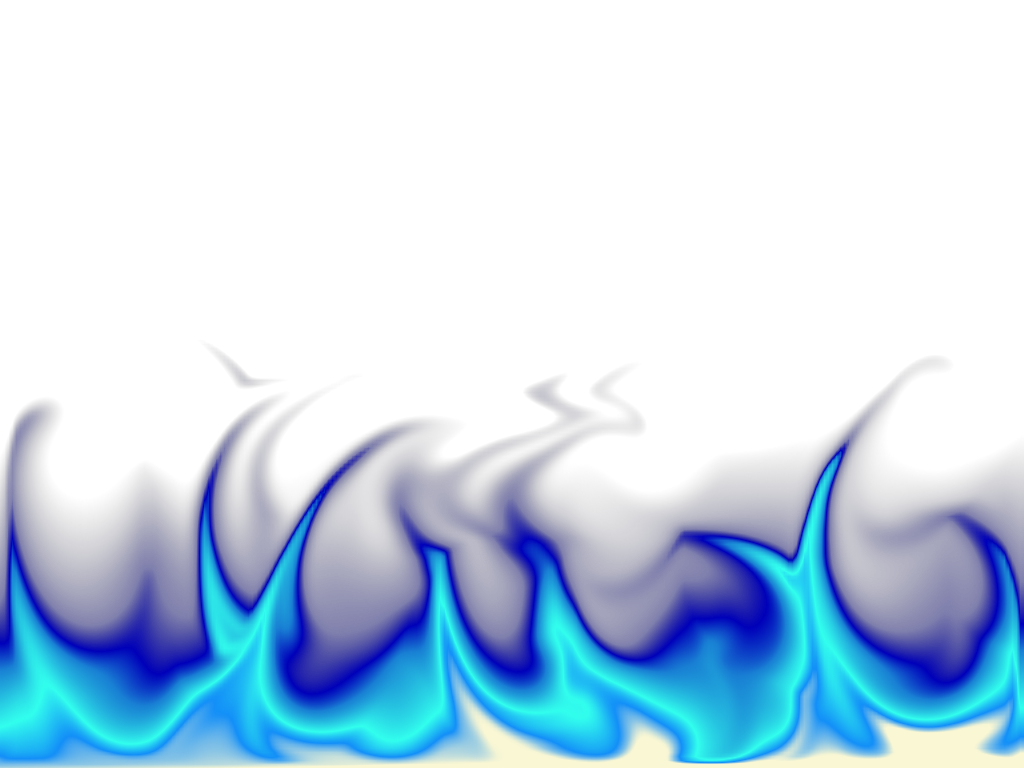 Fire blue transparent pictures. Gfx effect png vector library stock