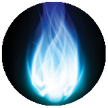 Blue fireball png. Off sale after bought