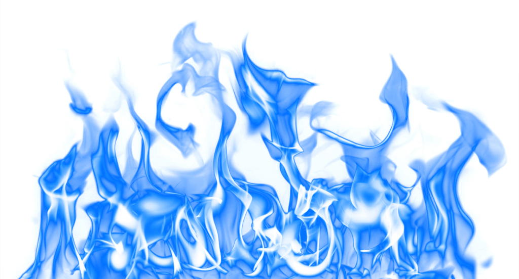 Blue flame letters png. Download image vector clipart