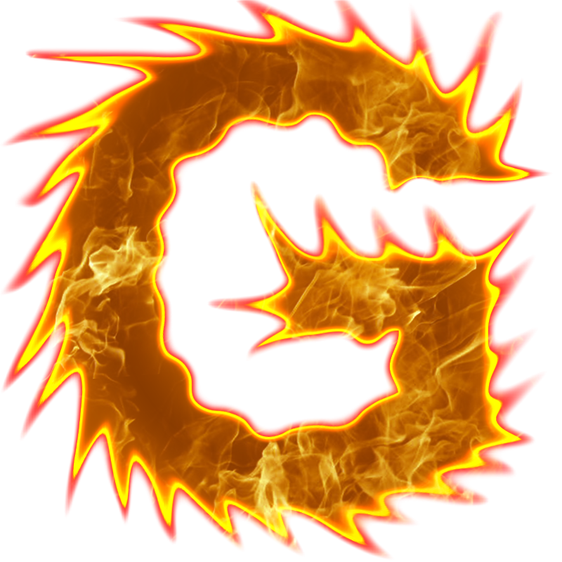 Letter f fire png. Letters by odanovic on