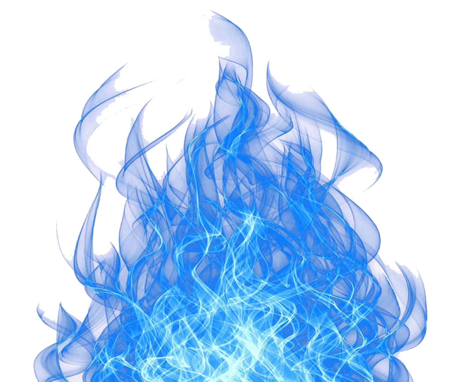 blue flame letters png