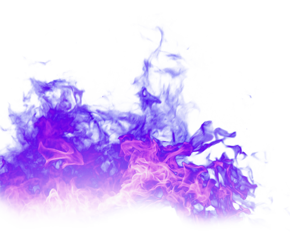 Purple flames png. Fire flame free matting