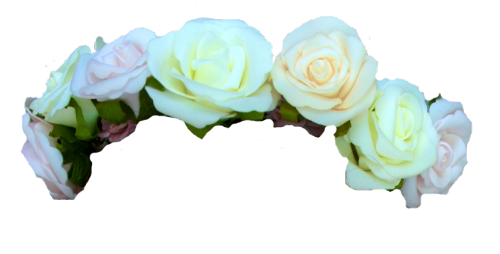 White flower crown png. Transparent pictures free icons