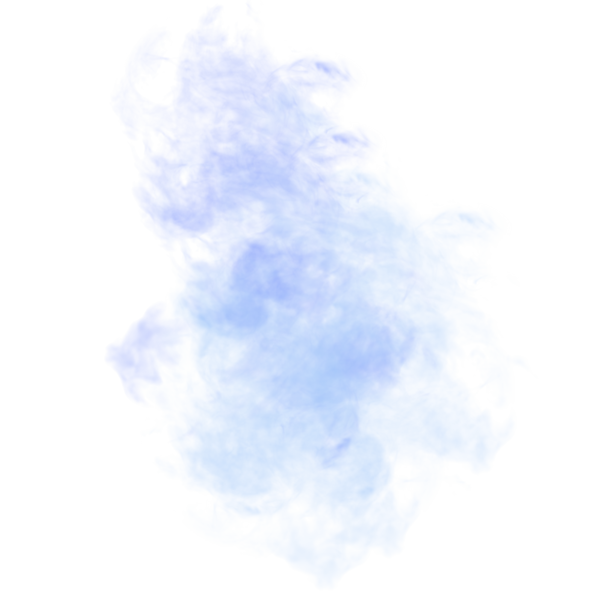 Blue fog png. Light glare effect chart