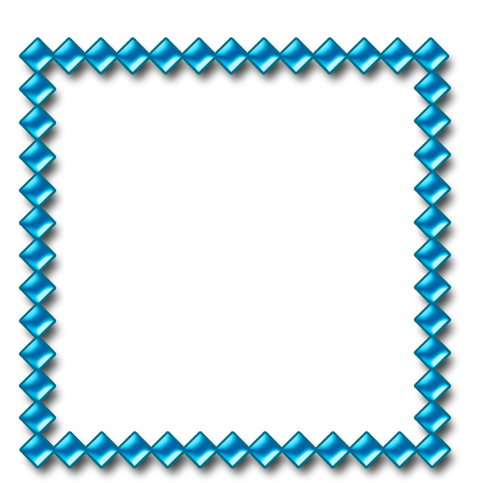 Molduras png para photoshop. Blue frame bordas fundo