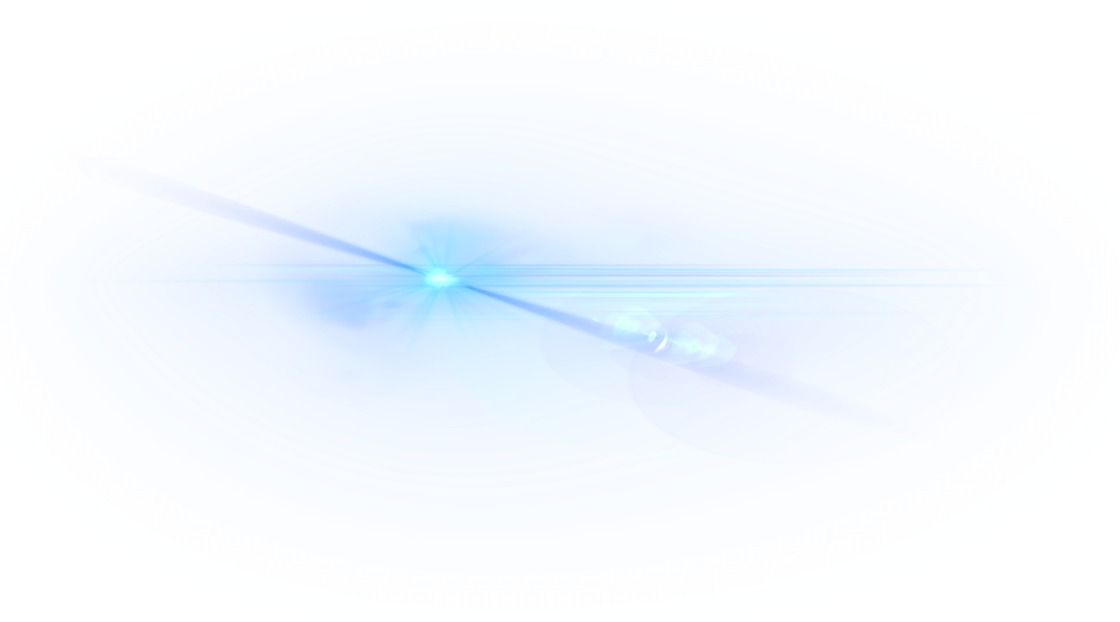 Blue glare png. Transparent images arts