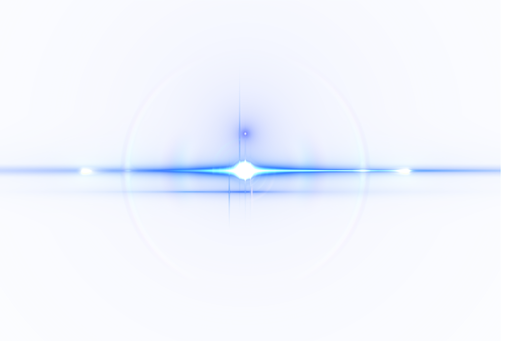 Blue glare png. Flare lens transparent images