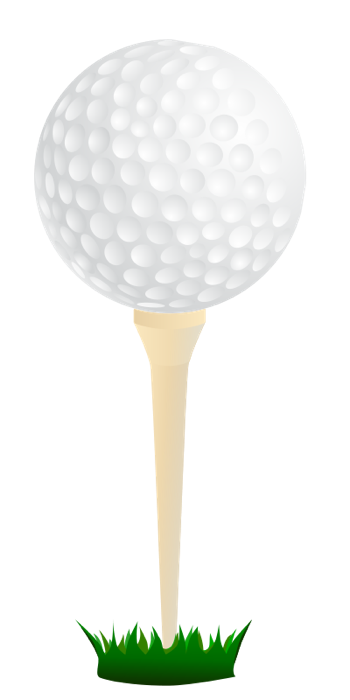 Blue golf tee png. Free clipart and animations